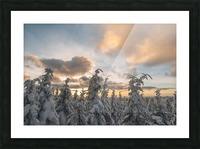 Winter sky Impression et Cadre photo