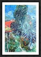 The garden of Dr. Gachet by Van Gogh Picture Frame print