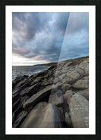 Drama in the sky Picture Frame print