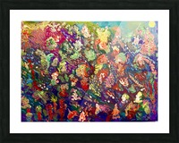 CORAL FANTASY Picture Frame print