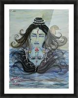 Shiva shakthi  Picture Frame print
