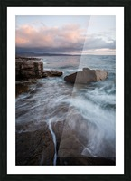 Rift Picture Frame print