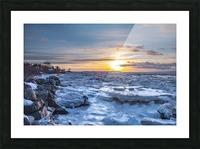 Winter contrast Impression et Cadre photo