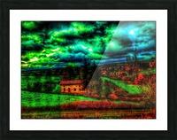 Paris Lyon Picture Frame print