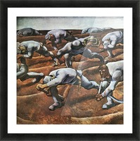 The Nameless 1914 by Albin Egger-Lienz Picture Frame print
