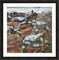 The Nameless 1915 by Albin Egger-Lienz Picture Frame print