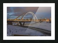 Walterdale_Bridge_NIK9890 Picture Frame print