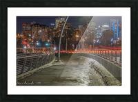 Walterdale_Bridge_NIK9912 Picture Frame print