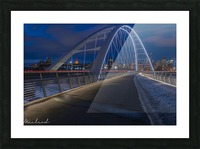 Walterdale_Bridge_NIK9895 Picture Frame print