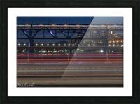 Walterdale_Bridge_NIK9897 Picture Frame print