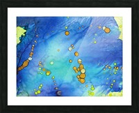 Bubbles in the Pool Picture Frame print
