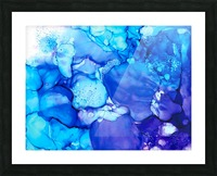 Shades of Sadness Picture Frame print