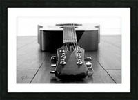 Gibson Guitar Picture Frame print