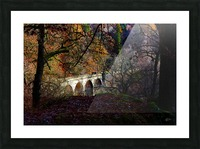 Viaduct River Gary Picture Frame print