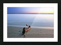 Serene Sunset Picture Frame print