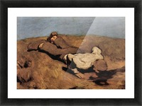 The source by Albin Egger-Lienz Picture Frame print