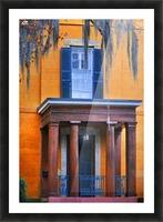 Savannah Porch Picture Frame print