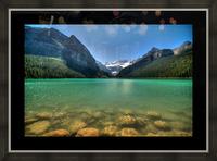 Banff Picture Frame print