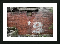 Another Brick in the Wall Picture Frame print