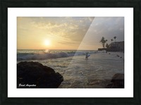 Hawaii Sunset Picture Frame print
