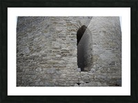 Castle Wall Picture Frame print