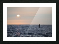 Sinking Sunset Picture Frame print