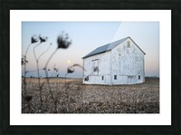 The Old Barn Picture Frame print