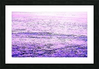 ICE 3 PINK : PURPLE Picture Frame print