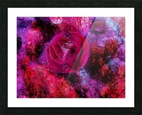 Rose me up Picture Frame print