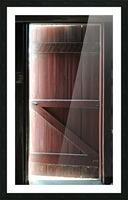 Barn Doors Open Picture Frame print