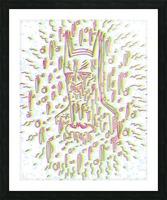 Meltyman Picture Frame print