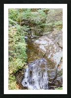 Eagle Cliff Falls 4 Picture Frame print