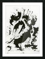 Fierce Picture Frame print