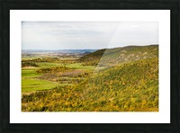 View of Ottawa Valley in Autumn 20 Picture Frame print