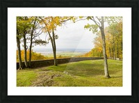 View of Ottawa Valley in Autumn 33 Picture Frame print