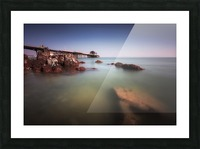 Mumbles pier Swansea Picture Frame print
