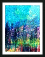 Luminous Night Picture Frame print