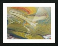 Rainbow Tornado Picture Frame print