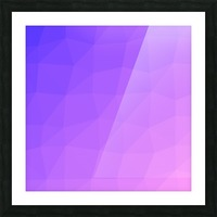Abstract art patterns low poly polygon 3D backgrounds, textures, and vectors (16) Picture Frame print