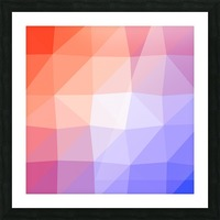 Abstract art patterns low poly polygon 3D backgrounds, textures, and vectors (3) Picture Frame print