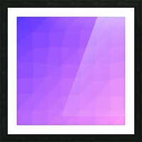 Abstract art patterns low poly polygon 3D backgrounds, textures, and vectors (14) Picture Frame print