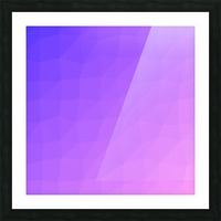 Abstract art patterns low poly polygon 3D backgrounds, textures, and vectors (15) Picture Frame print