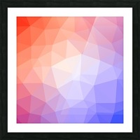 Abstract art patterns low poly polygon 3D backgrounds, textures, and vectors (8) Picture Frame print