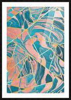 Geometric XXXXIII Picture Frame print