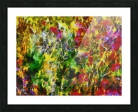 Poppy Abstract 2 Picture Frame print