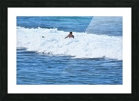 Catch a Wave Picture Frame print