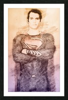Superman Picture Frame print