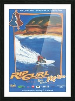 2000 RIP CURL PRO BELLS BEACH EASTER Surfing Championship Competition Print - Surfing Poster Picture Frame print