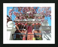 Victoria BC China town Picture Frame print