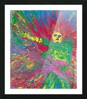 Jimi hendrix  Picture Frame print